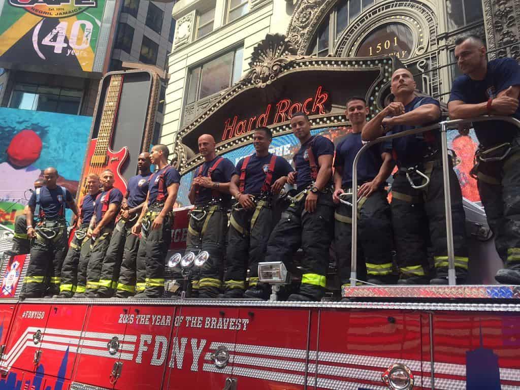 fdny foundation celebrates release of 2016 fdny calendar